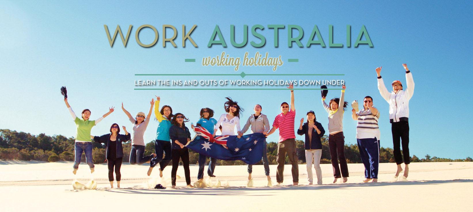 Working Holiday Visa for Australia from around the Globe